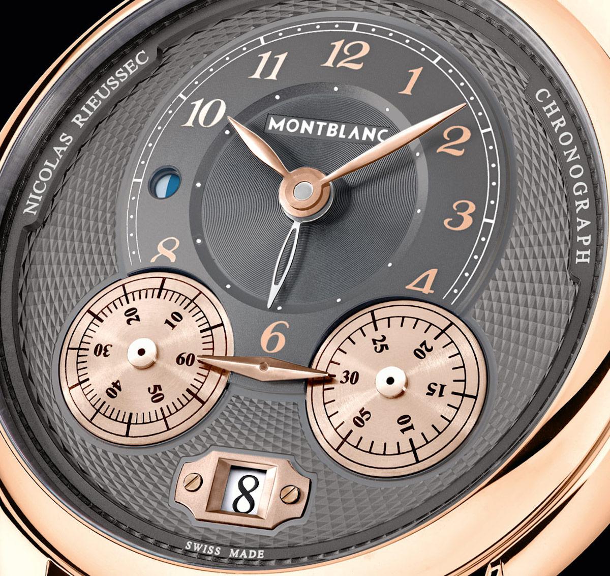 Mont Blanc luxus órája
