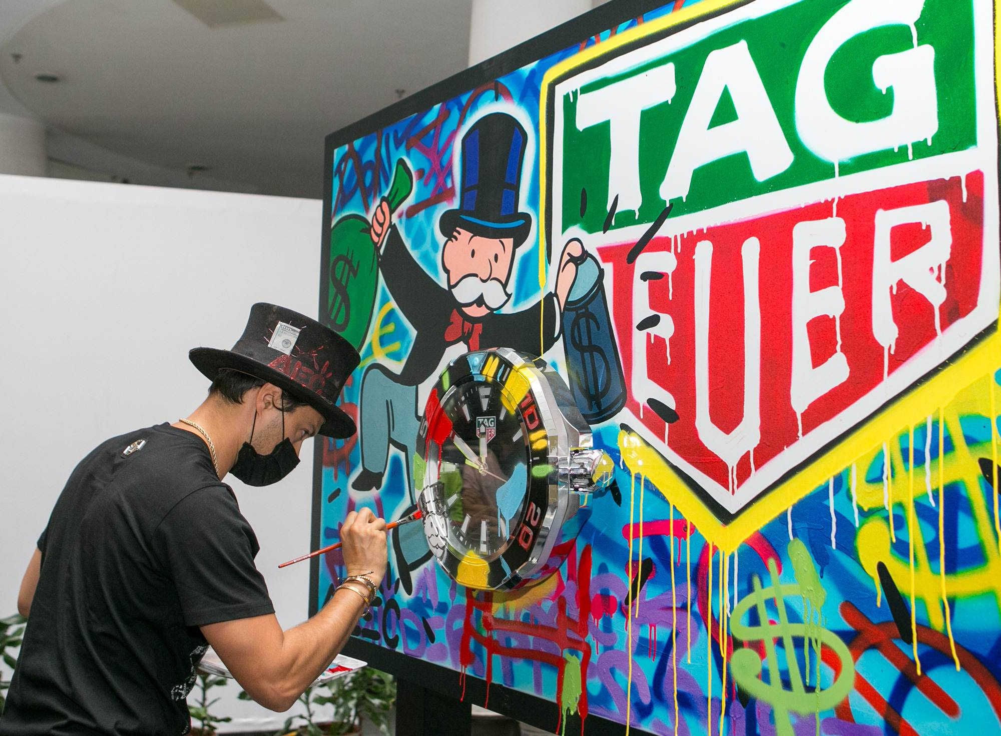 Alec Monopoly a TAG Heuer nagykövete!