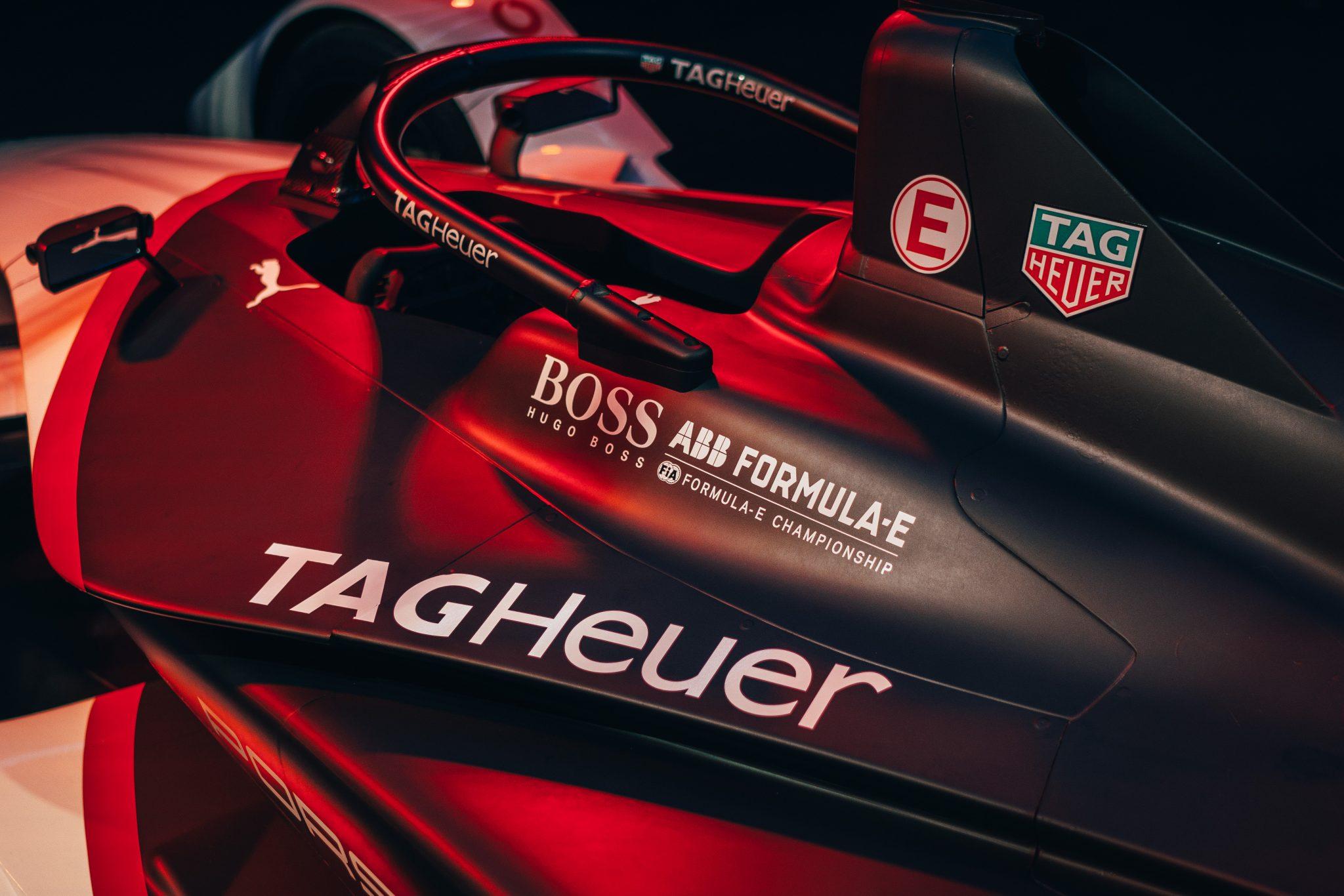 Premier a TAG Heuer Porsche Formula E csapata számára