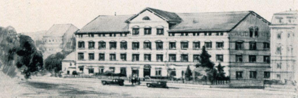 Mido gyár 1918-ban
