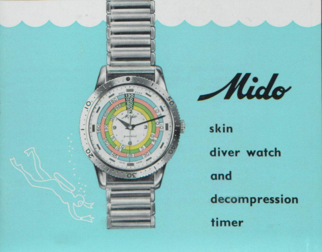 Az eredeti Rainbow Diver reklámja 1961-ből