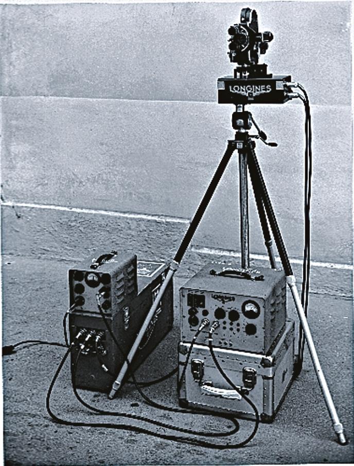 Chronocinégines, 1954