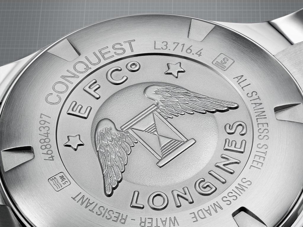 A Longines szakmai tudását a szárnyas homokóra logója garantálja